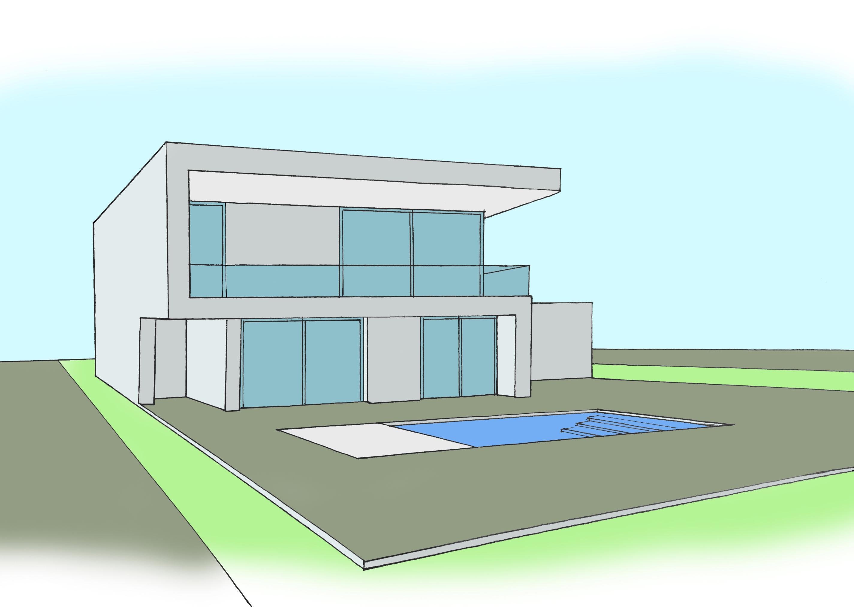 Casa falc b tera valencia efihabitat arquitectura viviendas nuevas ampliaci n y - Casas en betera ...