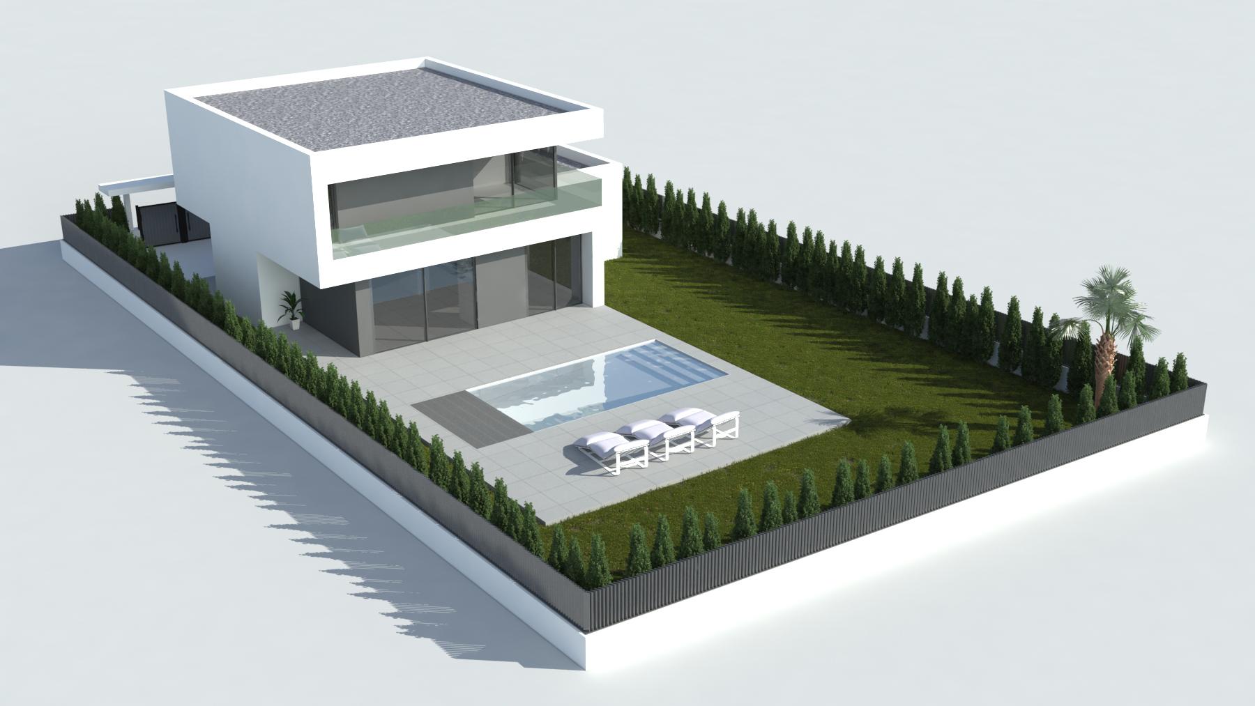 Casa falc b tera valencia efihabitat arquitectura - Casas en betera ...