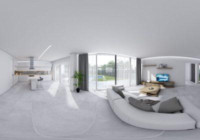 360 Casa Font Roja para ver con gafas VR
