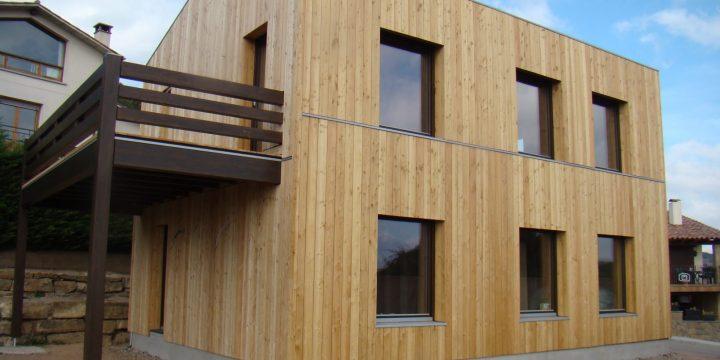 Viviendas de bio-construcción: casa Larixhaus